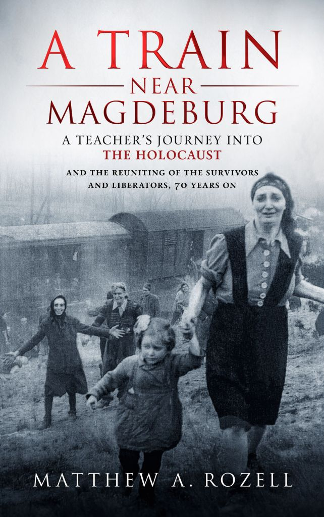 The cover of a book about Holocaust survivors