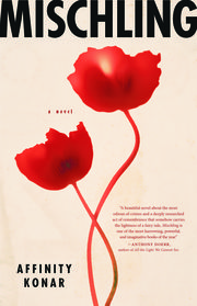 Cover of new fictional book