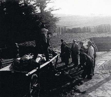 Dachau bodies were buried on Leightenberg hill