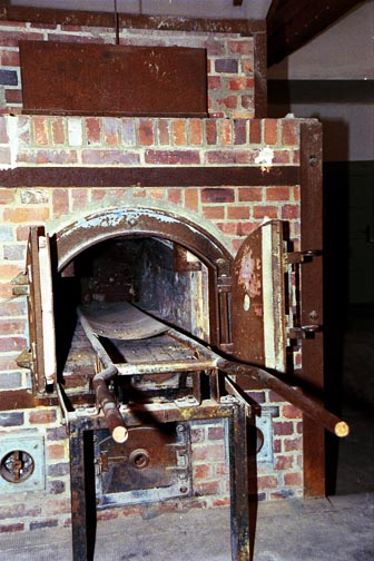 My photo of an oven at Dachau