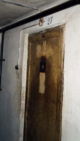 Door into Block 11