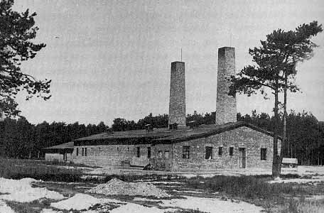 Gas chamber number 4 building