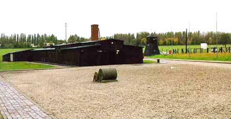Gas chamber buildig at Majdonik