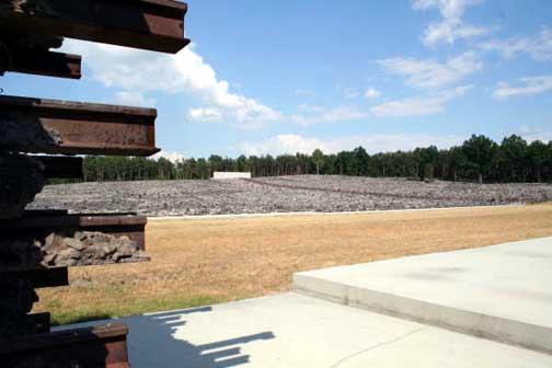 Belzec Memorial site
