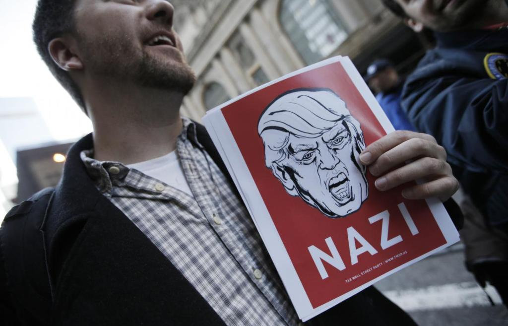 Why would anyone think that Donald Trump is a Nazi?
