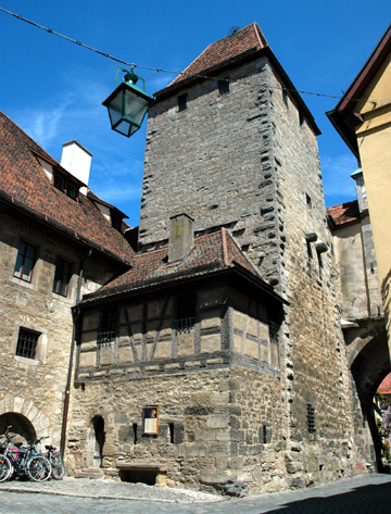 Tower in Rothenburg Germany