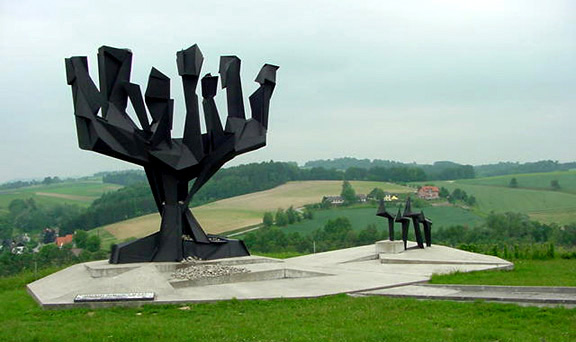 My photo of the Monument for the Jews at Mauthausen