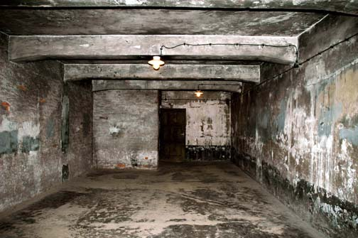 My photo of the gas chamber in the main Auschwitz camp