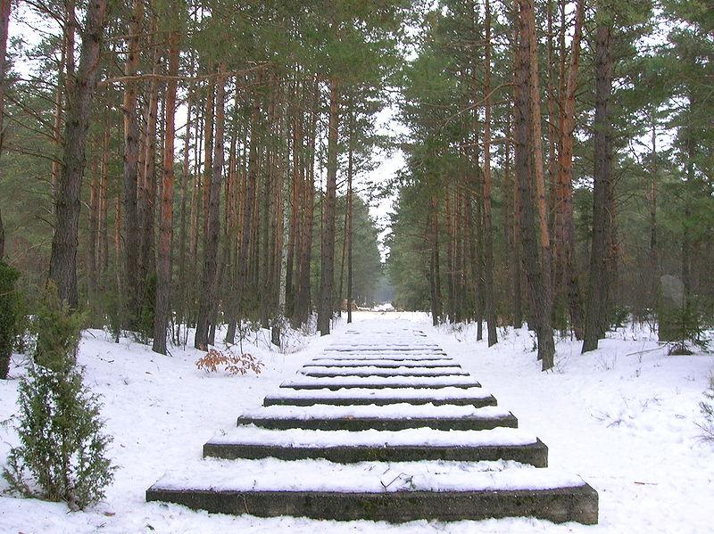 Stone path at Treblinka