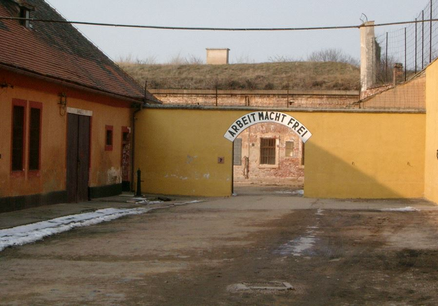 This is NOT the gage into Theresienstadt gheto