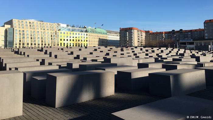 Recent photo of Holocaust Memorial
